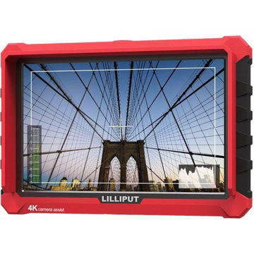 "buy Lilliput A7S 7"" Full HD Monitor with 4K Support (Red Case) in India imastudent.com"
