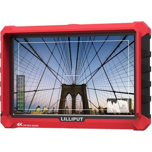 """buy Lilliput A7S 7"""" Full HD Monitor with 4K Support (Red Case) in India imastudent.com"""