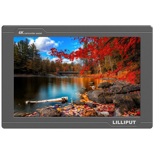 "buy Lilliput FS7 7"" 4K HDMI/3G-SDI Monitor with L-Series Type Plate in India imastudent.com"