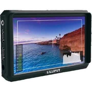 "buy Lilliput A5 5"" FHD Camera Field Monitor with HDMI Input & Loop Out, Built-In Speaker, 4K Video Compatible in India imastudent.com"