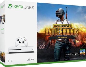 Microsoft Xbox One S 1 TB with PlayerUnknown's Battlegrounds (PUBG) Console