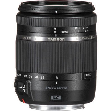 Tamron 18-270mm f/3.5-6.3 Di II VC PZD Lens for Canon EF price in india features reviews specs