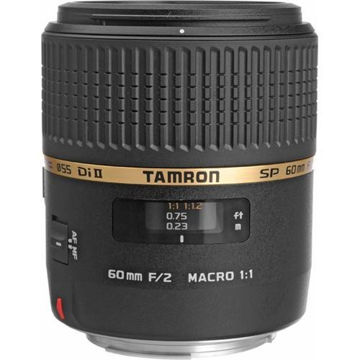 Tamron SP 60mm f/2 Di II 1:1 Macro Lens for Canon EF price in india features reviews specs
