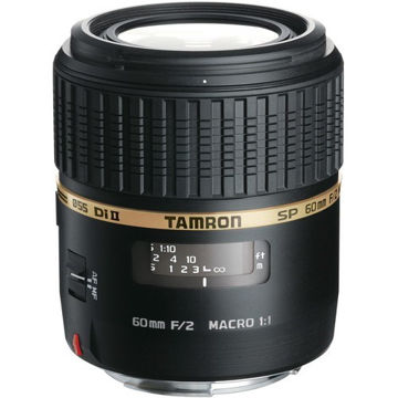 Tamron SP 60mm f/2 Di II 1:1 Macro Lens for Sony A price in india features reviews specs