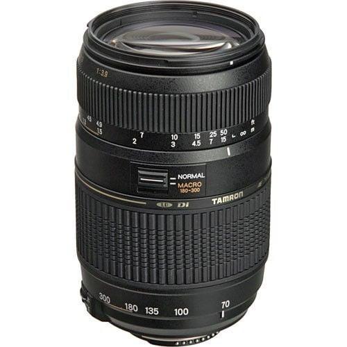 Tamron 70-300mm f/4-5.6 Di LD Macro Autofocus Lens for Nikon AF price in india features reviews specs