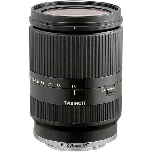 Tamron 18-200mm F/3.5-6.3 Di III VC Lens for Sony E Mount Cameras (Black) price in india features reviews specs