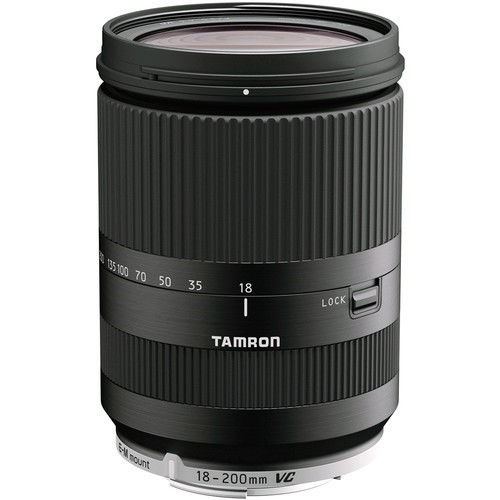 Tamron 18-200mm f/3.5-6.3 Di III VC Lens for Canon EF-M Mount (Black) price in india features reviews specs