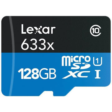 buy Lexar 128GB High-Performance UHS-I microSDXC Memory Card with SD Adapter in India imastudent.com