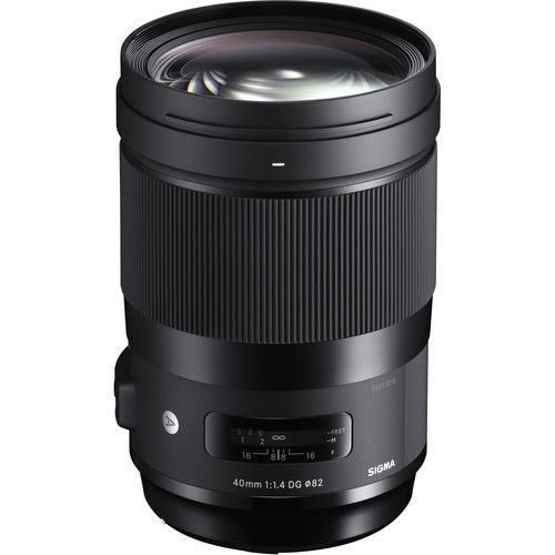 buy Sigma 40mm f/1.4 DG HSM Art Lens for Canon EF in India imastudent.com