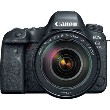 buy Canon EOS 6D Mark II DSLR Camera with 24-105mm f/4L II Lens in india imastudent.com