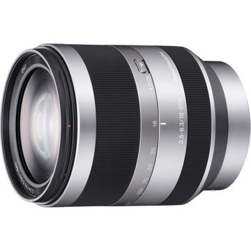 Sony E 18-200mm f/3.5-6.3 OSS Lens price in india features reviews specs