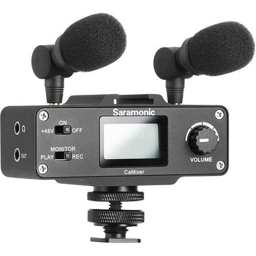 buy Saramonic CaMixer Stereo Condenser Microphone Kit in India imastudent.com