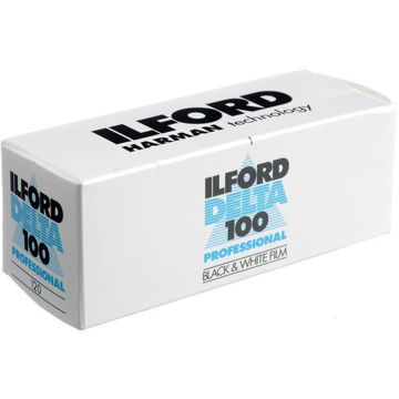 buy Ilford Delta 100 Professional Black and White Negative Film (120 Roll Film) in India imastudent.com