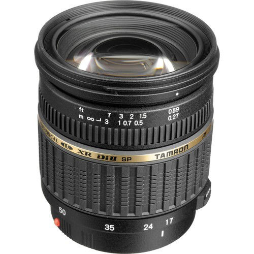 buy Tamron Zoom Super Wide Angle SP AF 17-50mm f/2.8 XR Di II LD Aspherical [IF] Autofocus Lens for Sony Alpha in India imastudent.com