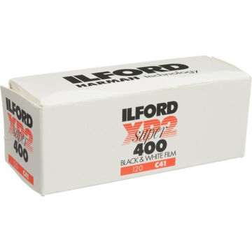 buy Ilford XP2 Super Black and White Negative Film (120 Roll Film) in India imastudent.com