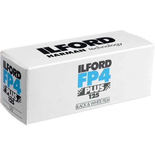 buy Ilford FP4 Plus Black and White Negative Film (120 Roll Film) in India imastudent.com
