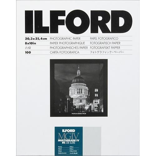 "buy Ilford Multigrade IV RC DeLuxe Paper (Pearl, 8 x 10"", 100 Sheets) in India imastudent.com"