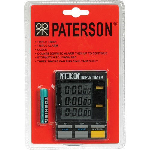 buy Paterson Triple Darkroom Timer in India imastudent.com