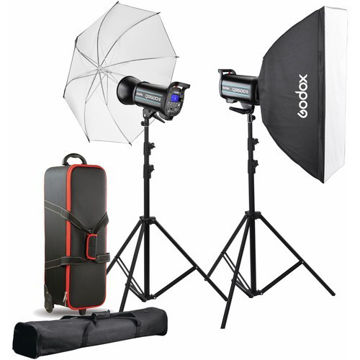 Godox QS600II 2-Light Studio Flash Kit price in india features reviews specs