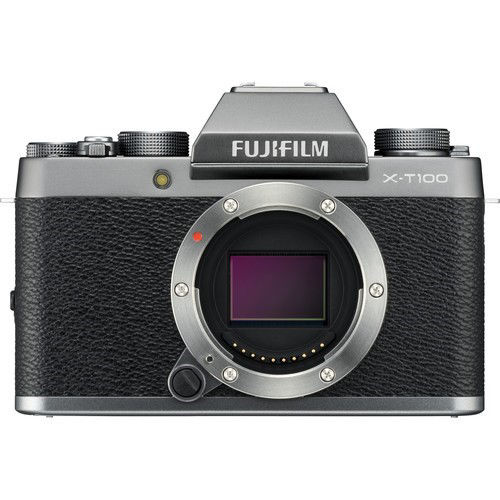 buy FUJIFILM X-T100 Mirrorless Digital Camera (Body Only, Dark Silver) in India imastudent.com