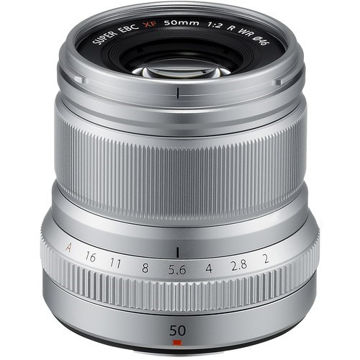 FUJIFILM XF 50mm f/2 R WR Lens (Silver) price in india features reviews specs