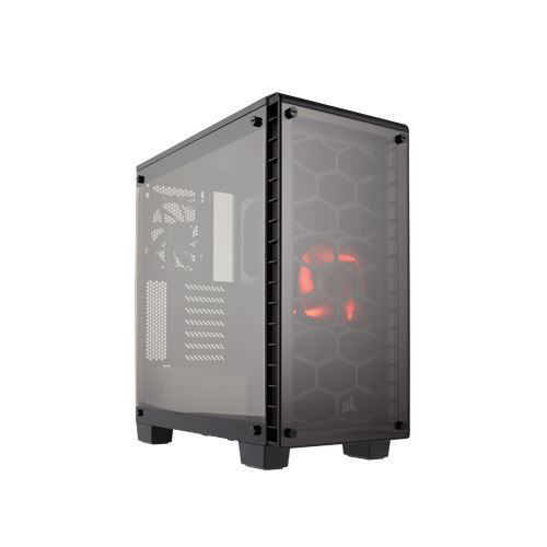 CORSAIR CRYSTAL SERIES 460X COMPACT ATX MID-TOWER - CC-9011099-WW price in india features reviews specs