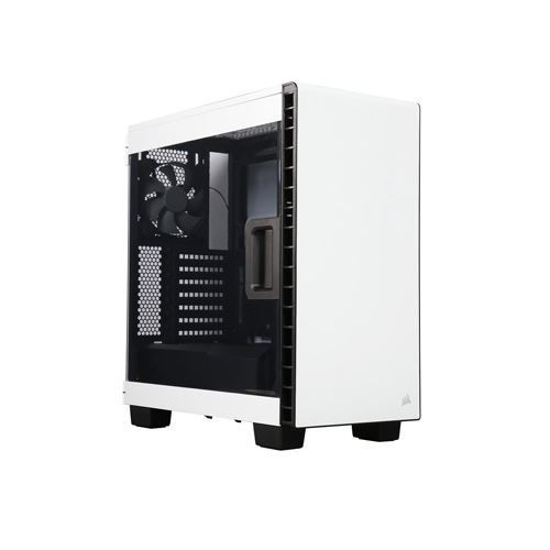 CORSAIR CARBIDE 400C WHITE ATX MID TOWER CASE - CC-9011095-WW price in india features reviews specs