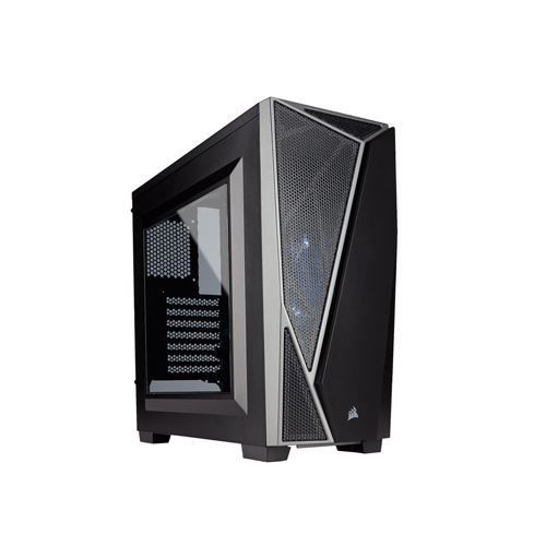 CORSAIR CARBIDE SERIES SPEC-04 MID-TOWER GAMING CASE(BLACK-GREY) - CC-9011109-WW price in india features reviews specs