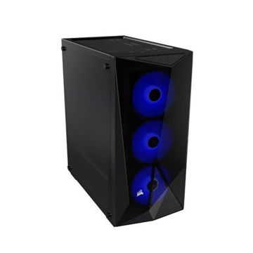 CORSAIR CARBIDE SPEC-DELTA RGB MID-TOWER ATX GAMING CASE(BLACK) - CC-9011166-WW price in india features reviews specs