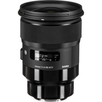 buy Sigma 24mm f/1.4 DG HSM Art Lens for Sony E in India imastudent.com