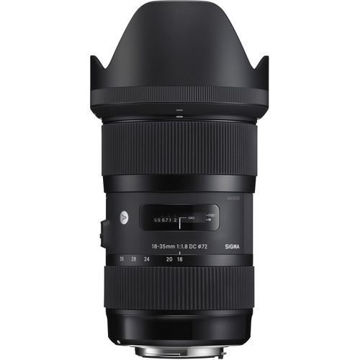 buy Sigma 18-35mm f/1.8 DC HSM Art Lens for Sony A in India imastudent.com