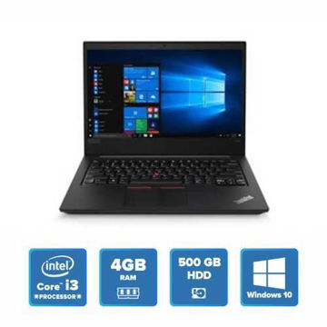 Lenovo ThinkPad E480 - i3 Win 10 4GB 1TB HDD (Black) price in india features reviews specs
