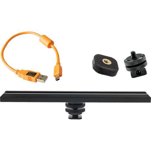 buy Tether Tools CamRanger Camera Mounting Kit with USB 2.0 Cable (Orange) in India imastudent.com