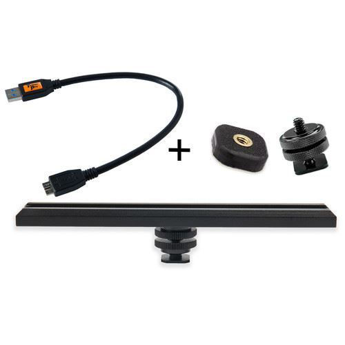 buy Tether Tools CamRanger Camera Mounting Kit with USB 3.0 Cable (Black) in India imastudent.com