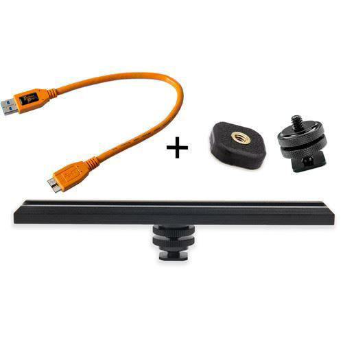 buy Tether Tools CamRanger Camera Mounting Kit with USB 3.0 Cable (Orange) in India imastudent.com