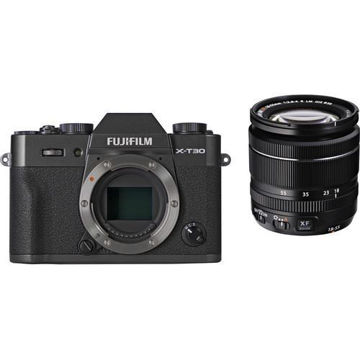 buy FUJIFILM X-T30 Mirrorless Digital Camera with 18-55mm Lens (Charcoal Silver) in India imastudent.com