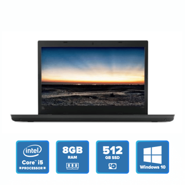 Lenovo ThinkPad L480 - i5 Win 10 8GB 512GB SSD (Black) price in india features reviews specs