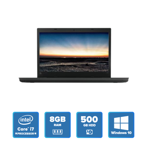 Lenovo ThinkPad L480 - i7 Win 10 8GB 500GB HDD (Black) 20LSS0NC00 price in india features reviews specs