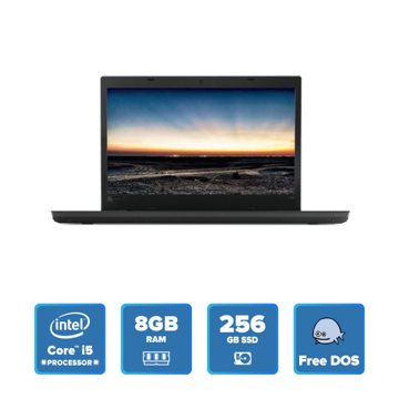 Lenovo ThinkPad L480 - i5 DOS 8GB 256GB SSD (Black) 20LSS0N800 price in india features reviews specs