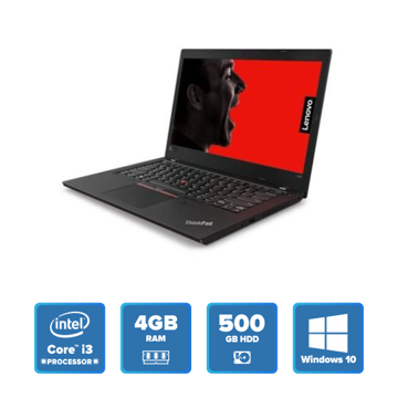 Lenovo ThinkPad L480 - i3 Win 10 4GB 500GB HDD (Black) 20LSS0N900 price in india features reviews specs