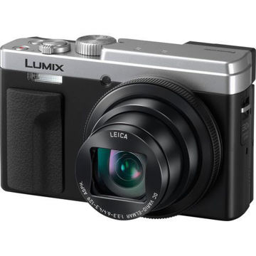 buy Panasonic Lumix DCZS80 Digital Camera (Silver) in India imastudent.com