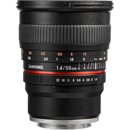 buy Samyang 50mm f/1.4 AS UMC Lens for Sony E in India imastudent.com