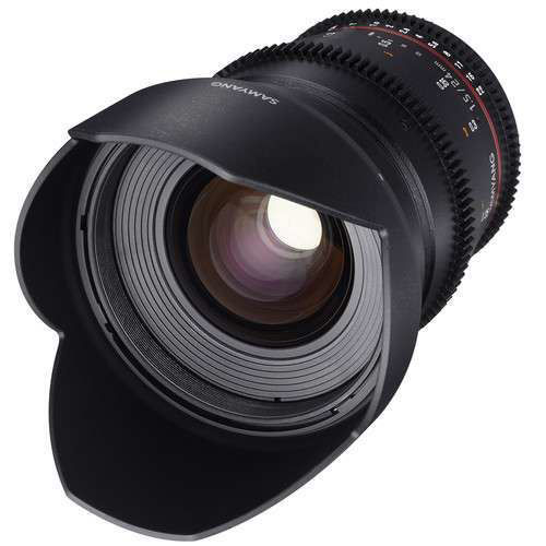 buy Samyang 24mm T1.5 VDSLRII Cine Lens for Nikon F Mount in India imastudent.com
