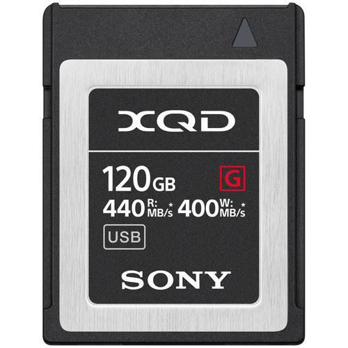 sony 120gb xqd card