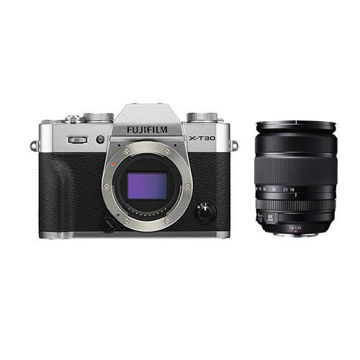 buy FUJIFILM X-T30 Mirrorless Digital Camera with 18-135mm Lens (Silver) in India imastudent.com