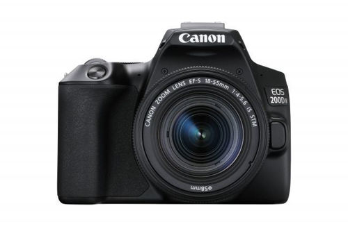 Canon EOS 200D Mark II DSLR Camera with 18-55mm Lens (Black) price in india features reviews specs imastudent.com