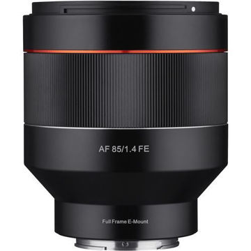 buy Samyang AF 85mm f/1.4 Lens for Sony E in India imastudent.com