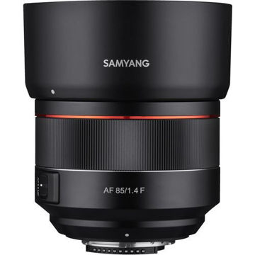 buy Samyang AF 85mm f/1.4 F Lens for Nikon F in India imastudent.com