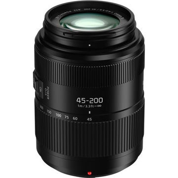 buy Panasonic Lumix G Vario 45-200mm f/4-5.6 II POWER O.I.S. Lens in India imastudent.com