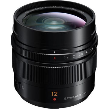 buy Panasonic Leica DG Summilux 12mm f/1.4 ASPH. Lens in India imastudent.com